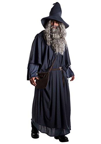 Adult Plus Size Premium Gandalf Costume 3X Black, Gray]()