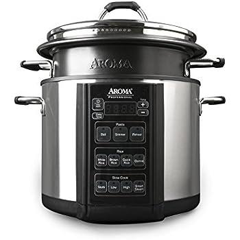 Amazon.com: Aroma Professional Slow Cooker, 6 quart