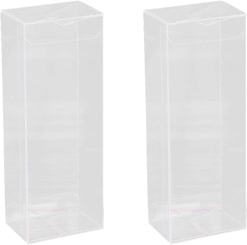 Hemoton 25 Piezas Caja de Regalo de Plastico Transparente para Favores de Fiesta Boda