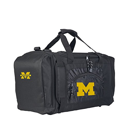 Officially Licensed NCAA Michigan Wolverines Roadblock Duffel