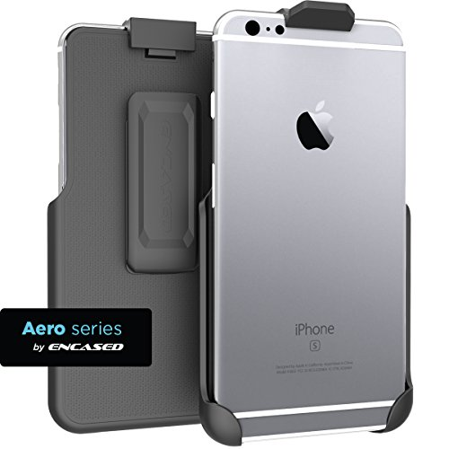 Encased Case Free Holster Compatible to iPhone 6 Plus Belt Clip Holster (caseless design), ClipMate Non-Slip Rotating Holster - (iPhone 6 Plus 5.5