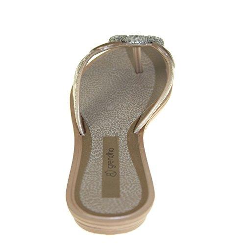 GRENDHA - EXOTIC THONG FEM - 81648 - bronze