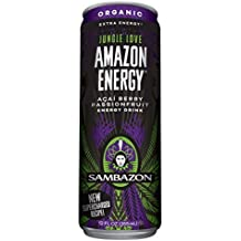 Sambazon Amazon Energy - Jungle Love - 12fl.oz. (Pack of 16)