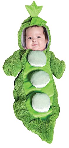 Pea In A Pod Plush Bunting Infant Newborn Halloween Costume