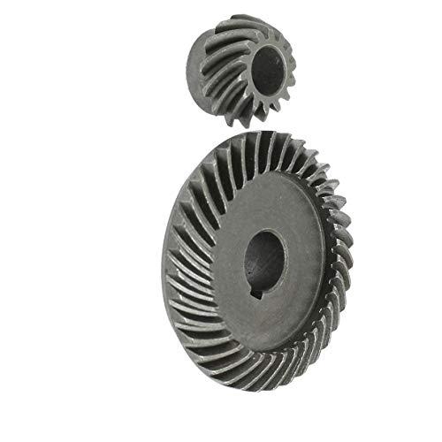 Aexit Repair Parts Generators Gray Metal Angle Grinder Gear for LG Commutator-End Bearings 100 TGC-100SA ()