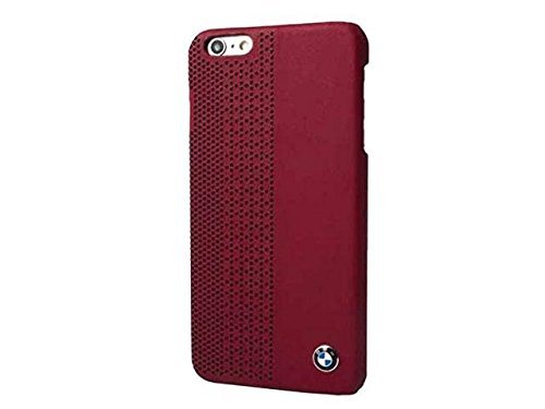BMW - Signature Perforated Leather - Hard Cover/Case red - for Apple iPhone 6 Plus