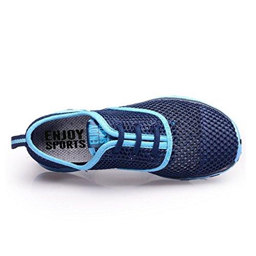 Sport Chaussures De Pour Bleu Nautiques Aquatique Chaussons D'eau Aqua Femme Et Plage Oriskey Randonnée EwXRnFqUW