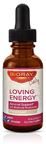 Bioray Loving Energy Stress Relief Herbal Supplement 2 fl oz ()