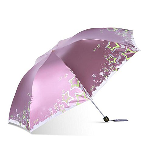 paraguas Ultra-ligero de las mujeres Lápiz Umbrella paraguas Sunscreen Parasol Anti-UV Twist Creative paraguas paraguas plegable paraguas fresco al aire ...