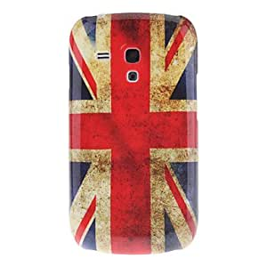 Caso duro de UK National Flag Patrón para Samsung Galaxy S3 I8190 Mini