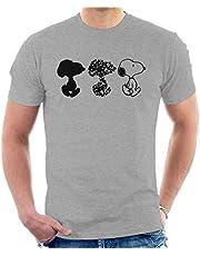 Peanuts Snoopy Black and White Trio Men's T-Shirt