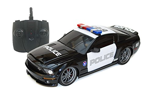 Ford Shelby GT500 Super Snake 1/18 Radio Control Police Car w/ Light