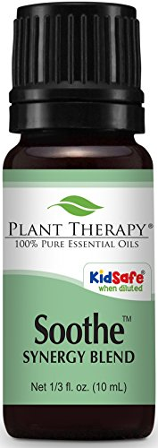 Plant Therapy Soothe Synergy Essential Oil Blend. 100% Pure,