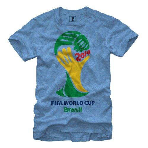 2014 FIFA World Cup Brasil Soccer - T-Shirt (XX-Large)