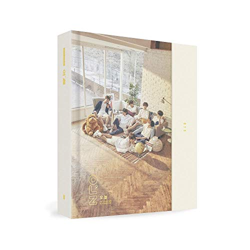 BigHit Ent BTS Exhibition Book 2018 [오,늘] Exhibition Book + Photo Set + Random Sticker + Extra Photocards Set