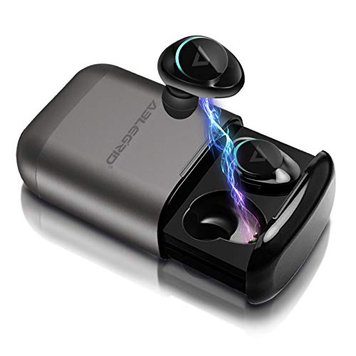 True Wireless Earbuds, ABLEGRID Pyxis Hi-Fi Stereo Earphones Bluetooth 5.0 Headphones with Deep Bass, 25H Playtime, IPX5 Waterproof Auto Pairing Sports Headsets, CVC 6.0 Noise Canceling Built-in Mic from ABLEGRID