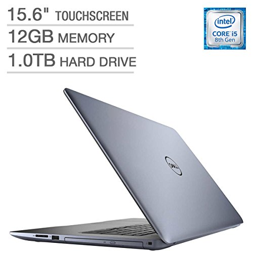 Newest Dell Inspiron 15 5000 Flagship Premium 15.6″ Full HD Touchscreen Backlit Keyboard Laptop, Intel Core i5-8250U Quad-Core, 12GB DDR4, 1TB HDD, DVD-RW, Bluetooth 4.2, Windows 10, Blue