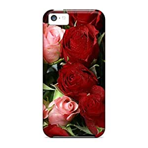 New Pink Red Roses Bouquet PC Skin Case Compatible With Case For Samsung Note 2 Cover