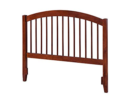 Atlantic Furniture AR294844 Windsor Headboard, Queen, Walnut ()