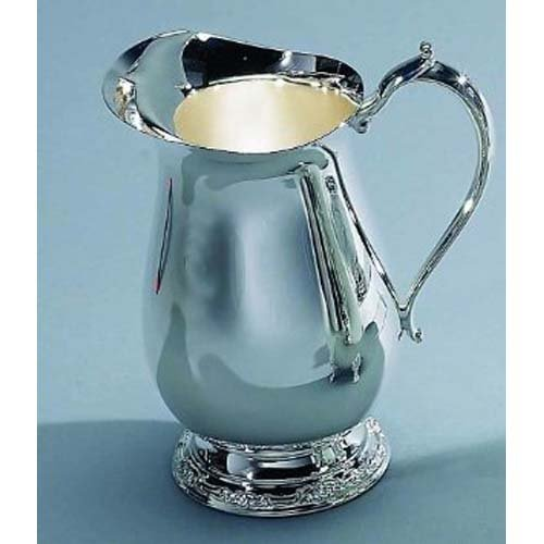 Elegance Silver 89803 Romantica Collection Silver Plated Water Pitcher, 64 oz. by Elegance (Image #1)