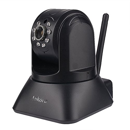 720P Wifi IP Camera, Aukora AU-196 Wireless Pan Tilt Home Security Surveillance Camera, Baby/Nanny/Pet Monitor with HD Video Streaming, Night Vision, Motion Detection for IOS Android Devices and PC