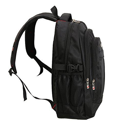 Stilvolle Herren Wasserdicht Große Kapazität Tasche Laptop Rucksack Reisen Nylon Tide Casual Herren Rucksäcke Schultasche rPQpi0hCPm