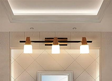 Camere Da Letto In Stile Giapponese : Sjun semplice solido legno parete lampada comodino bagno soggiorno