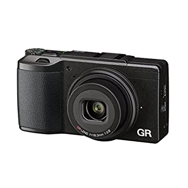 Ricoh GR II Digital Camera with 3 LCD (Black)