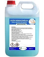 Ecosoluciones Químicas ECO- 901 | 5 litros | Loción Hidroalcohólica para manos 70% ALCOHOL | Somos fabricantes, Calidad asegurada
