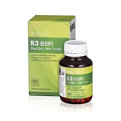 APYLD R3 BSPI Dual Zinc Milk Thistle - 90 Capsules, Help Liver Health Normal Immune Function. Need For Cell Division