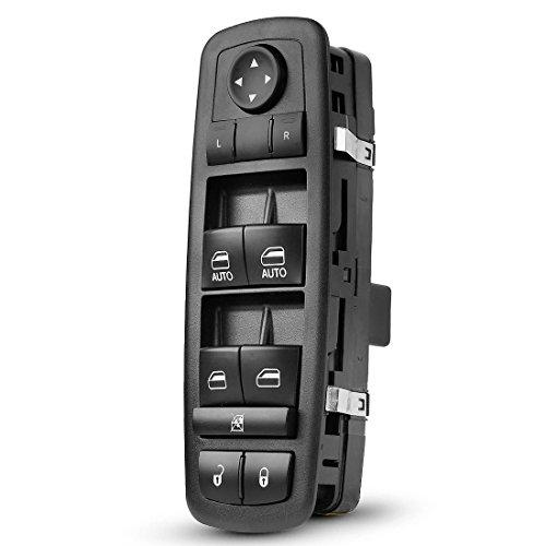 AUTOSAVER88 Power Master Window Switch 4602863AB - Compatible for Ram 1500 2500 3500 Quad Mega Crew Cab 2009 2010 2011 2012 - Door Lock Control,Mirror Adjust