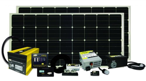 Go Power! Solar Elite Complete Solar and Inverter System with 320 Watts of SolarfromGo Power!