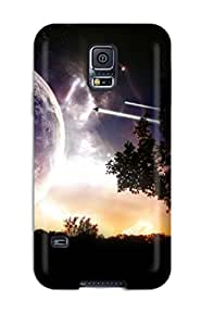 Awesome Universe Voyage Flip Case With Fashion Design For Galaxy S5