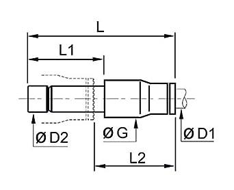 Pack of 10 Othmro Nitrile Rubber O-Rings 45mm OD 33.6mm ID 5.7mm Width Metric Buna-N Sealing Gasket