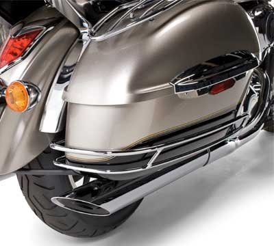 Kawasaki K53020-184 Chrome Saddlebag Side Trim