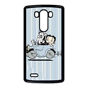 Betty Boop Taking A Drive LG G3 Cell Phone Case Black Delicate gift AVS_666903