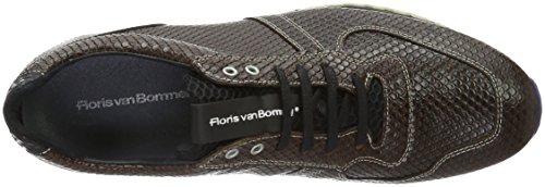 Floris van Bommel 16143/00 - Zapatillas Hombre marrón