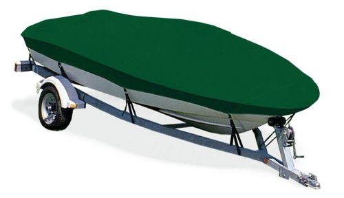 (TAYLOR MADE PRODUCTS Trailerite Semi-Custom Boat Cover for V-Hull Fishing Boats with Inboard/Outboard Motor (16'5