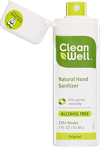 CleanWell Natural Hand Sanitizer Spray - Original Scent, 1 Ounce (Pack of 6) by Cleanwell (Image #9)'