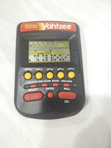 yahtzee electronic handheld 1995 - 6