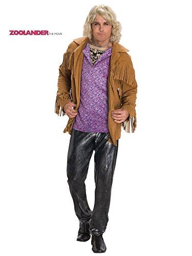 Hansel Zoolander Costume, Multi, Standard -