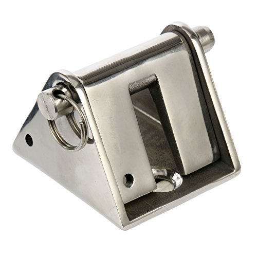 "Amarine-made Marine Boat Stainless Steel Chain Stopper for 5/16"" to 3/8"" ()"