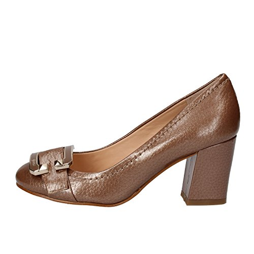 GUESS Zapatos Mujer 35 EU Marrón Cuero Brillante
