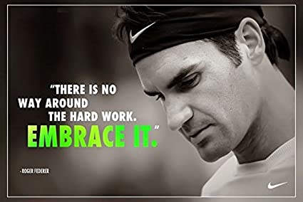 024ac8480ec4 Amazon.com  Roger Federer Poster Paper Print(12 Inch X 18 Inch ...