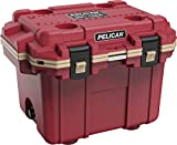 Pelican Elite 30 Quart Cooler (Canyon Red/Coyote)