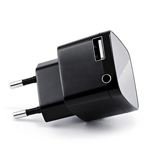 CSL Bluetooth Receiver mit USB Ladeanschluss / Audio-Empfänger | schnurloser- / kabelloser Musikadapter | Bluetooth Audio-Receiver | für Bluetooth Audiogeräte (Smartphone/Tablet / HiFi Anlage / Autoradio) | Bluetooth V2.1 + DER | 3,5mm Klinke Buchse | A2DP und AVRCP | bis zu 10m Reichweite | kabelloses Musikstreaming
