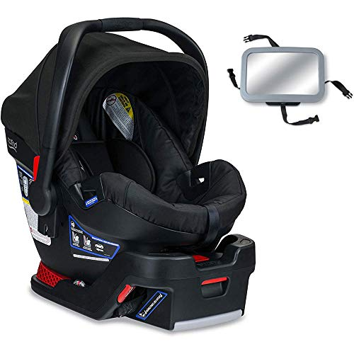 Britax – B-Safe 35 Infant Car Seat with Back Seat Mirror – Raven