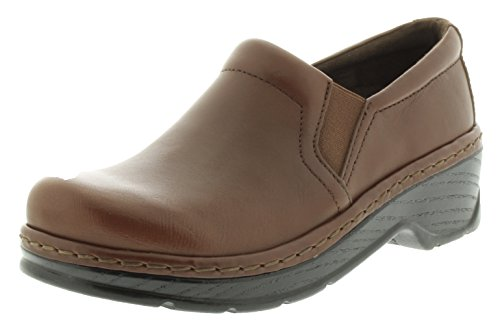 Brown KLOGS Women's Mustang Footwear Nursing Clog Closed Naples Back Leather zqOTfzrF