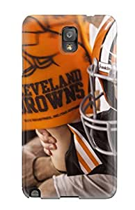 Premium Clevelandrowns U Back Cover Snap On Case For Galaxy Note 3