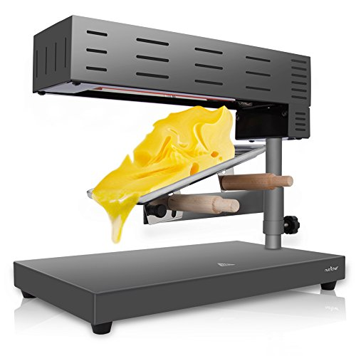 NutriChef Electric Raclette Cheese Melter - Swiss Style for sale  Delivered anywhere in Canada